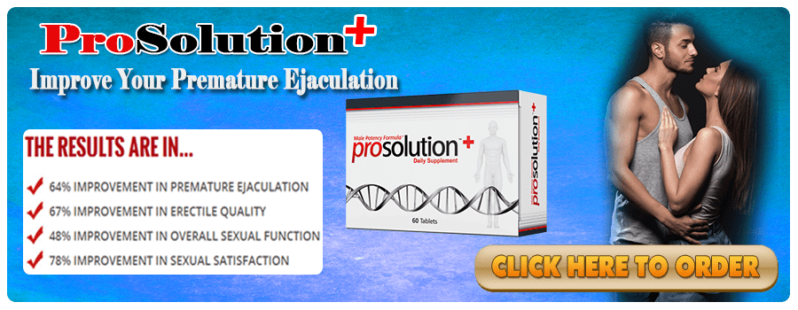 Prosolution Plus – Premature Ejaculation Pills